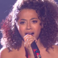"Whitney lors du prime de ""The Voice 8"" du 18 mai 2019, sur TF1"
