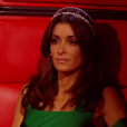 "Jenifer lors du prime du 18 mai 2018 de ""The Voice 8"", sur TF1"