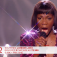 "London Loko lors du prime de ""The Voice 8"" du 18 mai 2019, sur TF1"