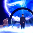 "Gjon's Tears lors du prime de ""The Voice 8"" du 18 mai 2019, sur TF1"