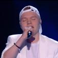 """Albi lors du prime de """"The Voice 8"""" du 18 mai 2019, sur TF1"""