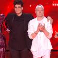 """L'équipe de Mika lors du prime de """"The Voice 8"""" du 18 mai 2019, sur TF1"""