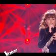 """Poupie lors du prime de """"The Voice 8"""" du 18 mai 2019, sur TF1"""