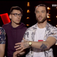 "Mayeul & Scalm Talk lors du prime de ""The Voice 8"" du 18 mai 2019, sur TF1"