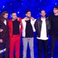 """Equipe de Soprano lors du prime de """"The Voice 8"""" du 18 mai 2019, sur TF1"""