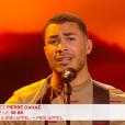 """Pierre Danaë lors du prime de """"The Voice 8"""" du 18 mai 2019, sur TF1"""