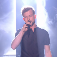 """Théophile Renier lors du prime de """"The Voice 8"""" du 18 mai 2019, sur TF1"""