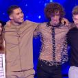 """Equipe de Julien Clerc lors du prime de """"The Voice 8"""" du 18 mai 2019, sur TF1"""
