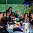 """Exclusif - Benjamin Belin, Sandra Sisley et ses amies - 3ème soirée """"Sandra and Co"""" lors du 72ème Festival International du Film de Cannes le 16 mai 2019."""