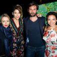 """Exclusif - La compagne de Simon Taglioni, Alice Taglioni avec son frère Simon Taglioni et Sandra Sisley - 3ème soirée """"Sandra and Co"""" lors du 72ème Festival International du Film de Cannes le 16 mai 2019."""