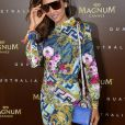 Patricia Contreras - Nabilla Benattia présente sa collaboration pour les lunettes Quay Australia sur la plage Magnun lors du 72ème Festival International du Film de Cannes, le 18 mai 2019. ©Veeren / Bestimage