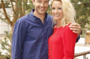 Élodie Gossuin et son mari Bertrand :