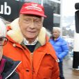 Bernie Ecclestone, Niki Lauda - 78 èmes courses du Hahnenkamm à Kitzbühel, Autriche, le 20 janvier 2018.