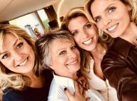 Sylvie Tellier : Rare photo complice avec ses soeurs et sa mère