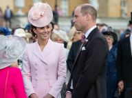 Kate Middleton printanière pour la garden party du palais avec William