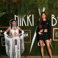 Cindy Bruna - Soirée des 20 ans de Nikki Beach, sur la plage 3.14, à Cannes, le 22 mai 2019.