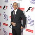 Lewis Hamilton à la soirée de charité GOSH à Londres, hier