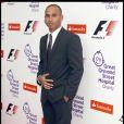 Lewis Hamilton à la soirée GOSH à Londres, hier