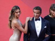 Sistine Stallone : Sirène nacrée devant son papa Sylvester
