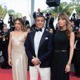 """Sylvester Stallone, sa femme Jennifer Flavin et leur fille Sistine - Montée des marches du film """"Hors Normes"""" pour la clôture du 72ème Festival International du Film de Cannes. Le 25 mai 2019 © Borde / Bestimage"""
