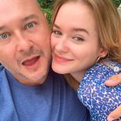 Cauet : Rare photo de sa fille Ivana, sosie d'une star américaine !