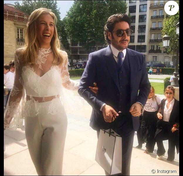 Grégory Cohen s'est marié, le 28 mai 2019.