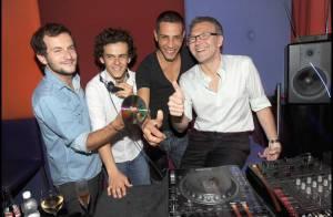 Laurent Ruquier le DJ et sa bande de potes, Steevy, Michaël, Jérémy... ont mis le feu au Murano !