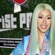 Cardi B - Photocall des Swisher Sweets Awards Cardi B With The Band Perry 2019 Spark Award, Los Angeles, le 12 avril 2019.