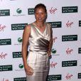 Vera Zvoraneva, lors de la grande soirée pré-Wimbledon, organisée au Roof Gardens, à Londres, le 18 juin 2009 !