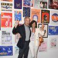 """Olivier Orban et sa femme Christine - Exposition d'Albert Koski """"Rock Art"""" à la Galerie Laurent Godin à Paris le 3 juin 2019. © Coadic Guirec/Bestimage"""