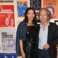 """Rihanna Marchand, Pascal Bruckner - Exposition d'Albert Koski """"Rock Art"""" à la Galerie Laurent Godin à Paris le 3 juin 2019. © Coadic Guirec/Bestimage"""