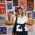 """Denise Zanet - Exposition d'Albert Koski """"Rock Art"""" à la Galerie Laurent Godin à Paris le 3 juin 2019. © Coadic Guirec/Bestimage"""