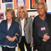 Brigitte Macron joue la groupie rock pour une nouvelle expo à Paris