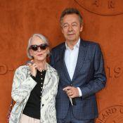 Michel Denisot et sa femme Martine : 45 ans d'amour à Roland-Garros