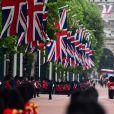 Image lors de la parade Trooping the Colour 2019 à Londres le 8 juin 2019.