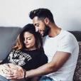 Julia Flabat est enceinte de son premier enfant. Mars 2017.