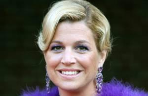La princesse Maxima des Pays-Bas : une vraie boule de poils flashy ! Ça, c'est du grand art !