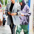 Justin Bieber et sa femme Hailey Baldwin Bieber sont allés se relaxer au Voda Spa à West Hollywood, Los Angeles, le 16 mai 2019
