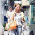 Maria Shriver rejoint ses hommes pour déjeuner au Babalu restaurant de Brentwood, à Los Angeles, le 20 juin 2009 !