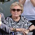 Inauguration de la rue Jacques et Bernadette Chirac, par la femme de l'ancien président de la République, Bernadette Chirac (en fauteuil roulant) et sa fille Claude, à Brive-la-Gaillarde. Le 8 juin 2018