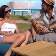 """Tyla et Jonathan dans """"L'Ile de la tentation 2019"""", le 13 juin, sur W9"""