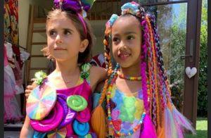 North West fête ses 6 ans : maquillage et look chargé pour son anniversaire