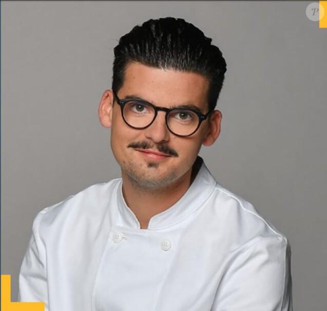 """Camille Delcroix candidat de """"Top Chef 2018"""", photo officielle, M6"""