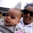 Eva Longoria a partagé des photos inédites d'elle enceinte et de son fils Santiago dans sa story Instagram, le 19 juin 2019, pour le 1er anniversaire de son bébé.