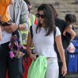 La famille Kardashian s'apprête à s'envoler du Costa Rica pour rejoindre le sol américain après y avoir passé des vacances. le 21 juin 2019.