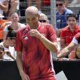 Zinédine Zidane lors de la grande finale de la Z5 Cup à Aix-en-Provence, France, 23 juin 2019.  © Norbert Scanella/Panoramic/Bestimage