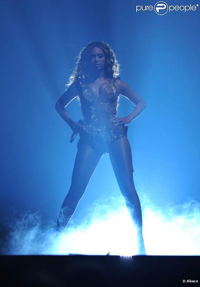 Beyoncé en concert au Madison Square Garden à New York, le 22 juin 2009