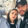 """Marwan Berreni de """"Plus belle la vie"""" et sa petite amie Myra Tyliann, sur Instagram, le 4 décembre 2018"""