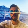 """Marwan Berreni de """"Plus belle la vie"""" à Marseille, Instagram, 24 octobre 2018"""
