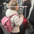 Carla Bruni sur Instagram, le 15 avril 2019.